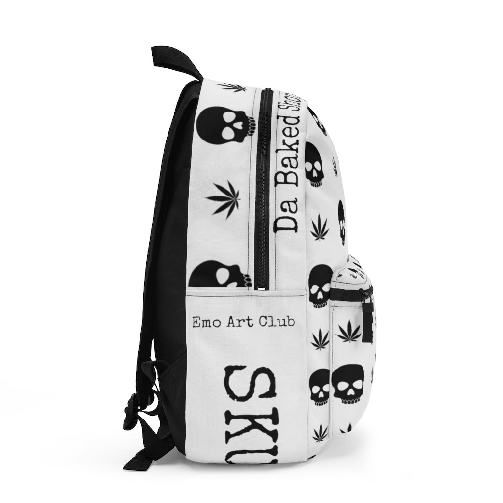 Skull High Backpack