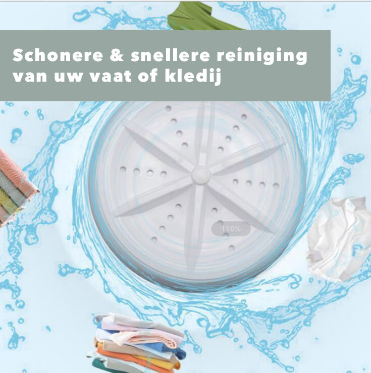 UltraSonic™ Washer - Multifunctionele Vaat- en Kledingwasser