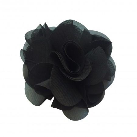 Black Latin Rose Hair Clip