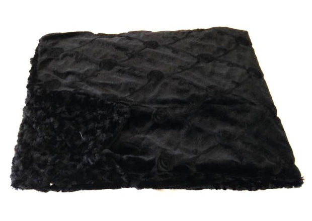 Black Roses Throw