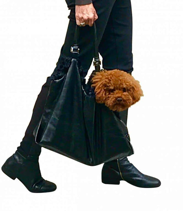 Hollywood Dog Tote Carrier, Black