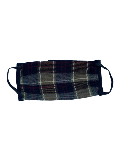 Humans Face mask, Hunter Plaid