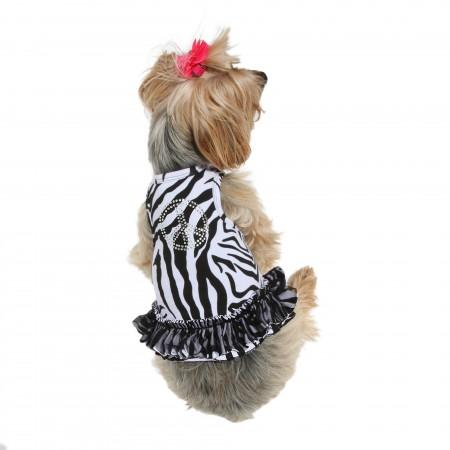 Zebra Peace Sign Tutu