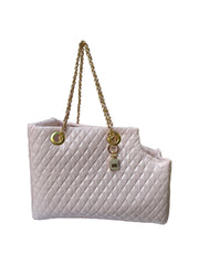 NEW Kate Quilted Carrier, Pearl Pink