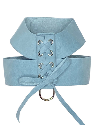 Parisian Corset Harness, Horizon Blue