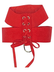 Parisian Corset Harness, Red
