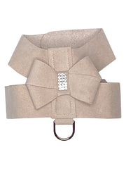 Hollywood Bow Dog Harness, Light Rose