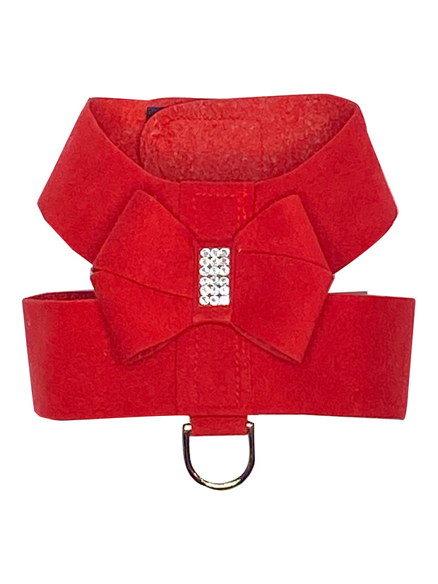 Hollywood Bow Dog Harness, Red