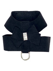 Hollywood Bow Dog Harness, Black