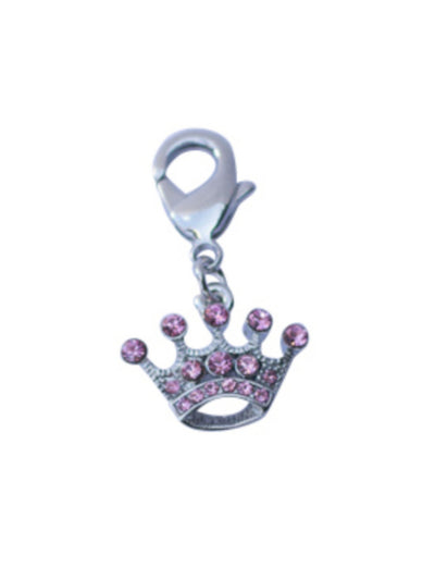 Teenie Crown Dog Collar Charm