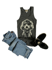 Women's Toy Poodle Tank Top