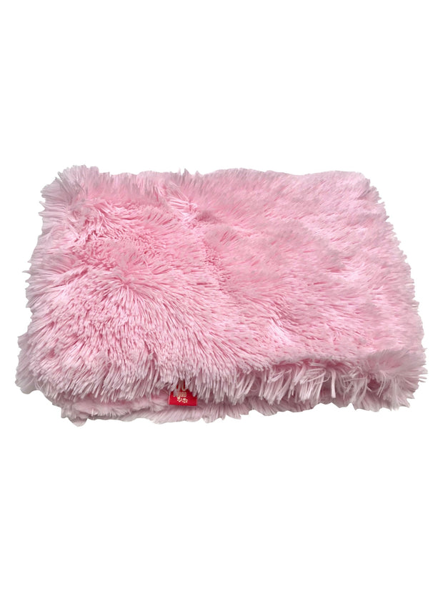 Blanket, Powder Puff in Pale Pink