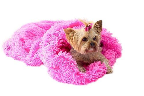 Hot Pink Powder Puff Cozy