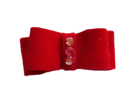 Ultrasuede Hair Bows in 10 colors