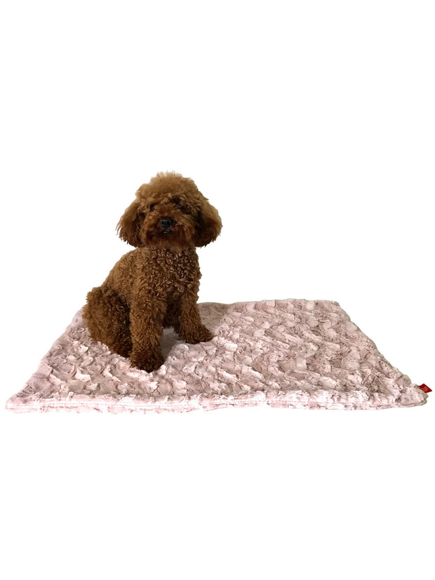 Blanket, Bella Blush Pink
