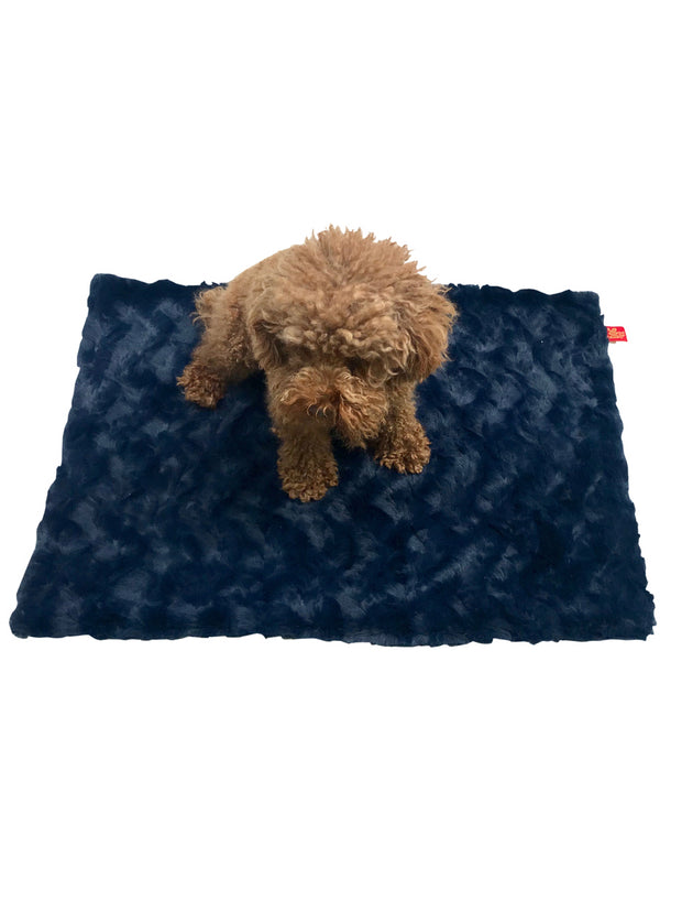 Blanket, Bella Navy Blue