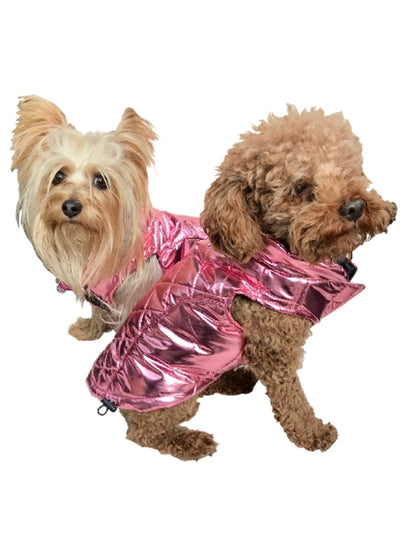 Gallactica Coat, Metallic Pink