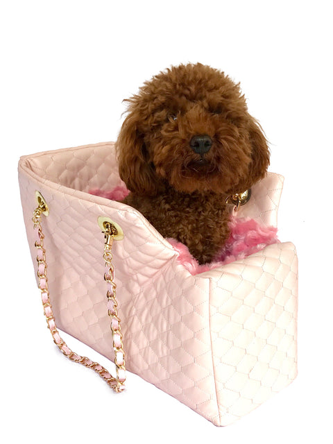 Kate Quilted Carrier, Pink