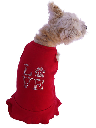 Love Paws Tank Dress