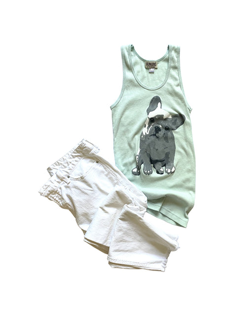 Women's Frenchie Tank Top