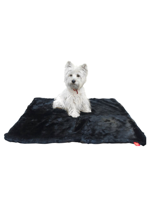 Magic Mat, Black Mink Plush 2 SIZES!