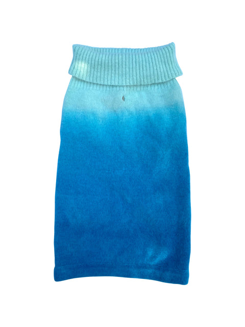 Newport Ocean, Blue Dip Dye Sweater (no sequins)/