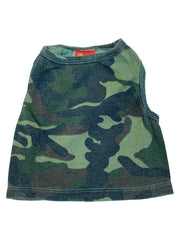 Olive Camo Tank with Curved bottom