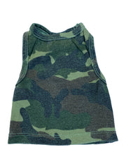 Olive Camo Tank with Straight bottom