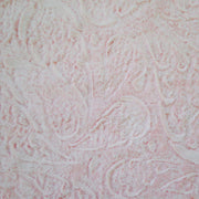 Large Blanket, Pink Paisley