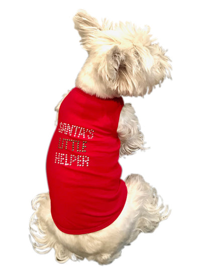 Santa's Little Helper Tank, Red