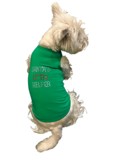 Santa's Little Helper Tank, Green