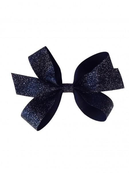 Black Sophisticated Sparkle Hairbow