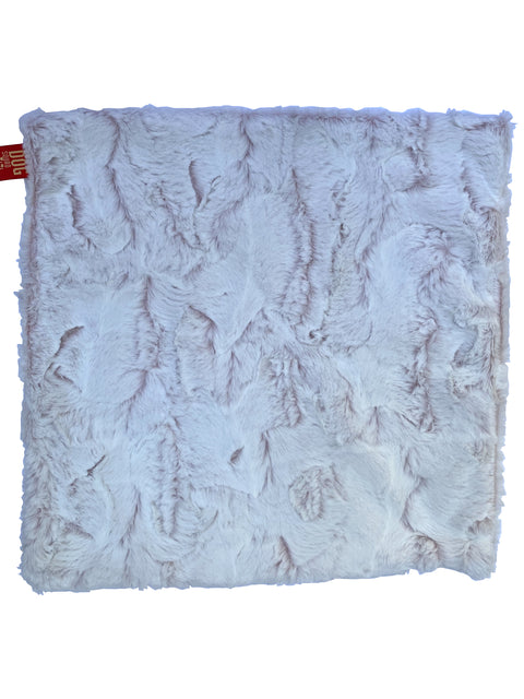 Carrier Square Blanket, Frosted Rosewater