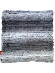 Carrier Square Blanket, Grey Ombre