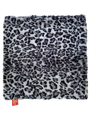 Carrier Square Blanket, Leopard Steel