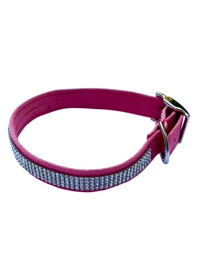 Super star 4 Row Collar: Bubblegum Pink