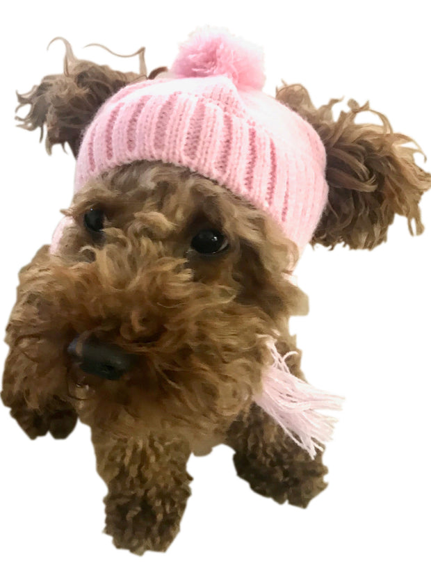 Scottish Cable knit Hat, Pink