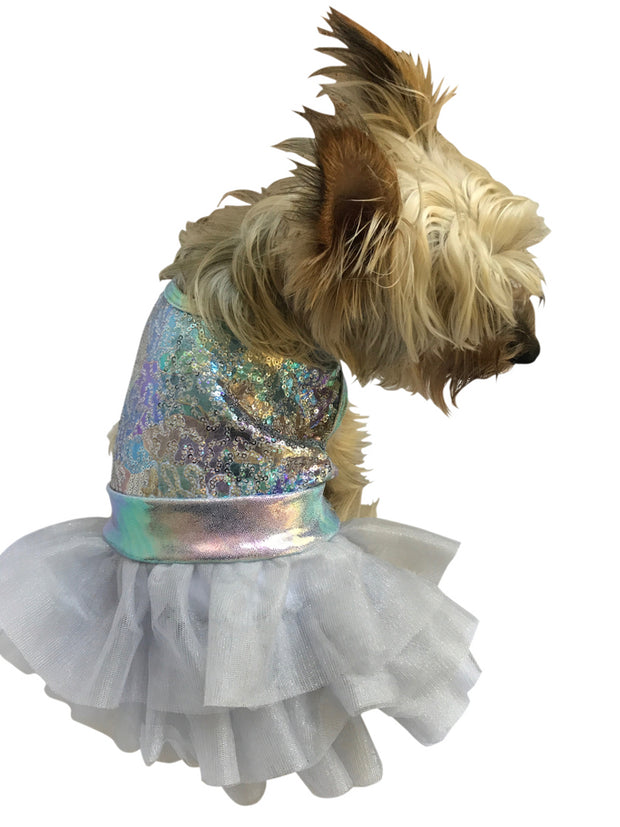 Unicorn Fufu Tutu Dog Dress