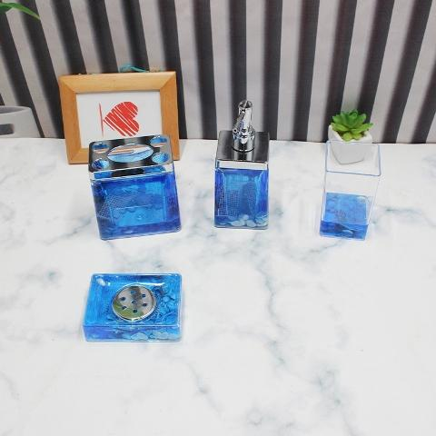 Acrylic Bathroom Set 4