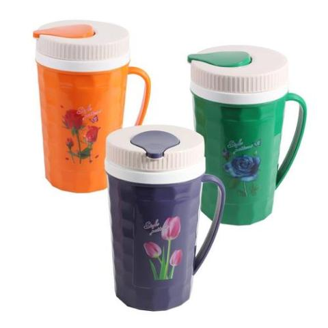Thermos Water Jug 25*13.3 cm with 4 cups