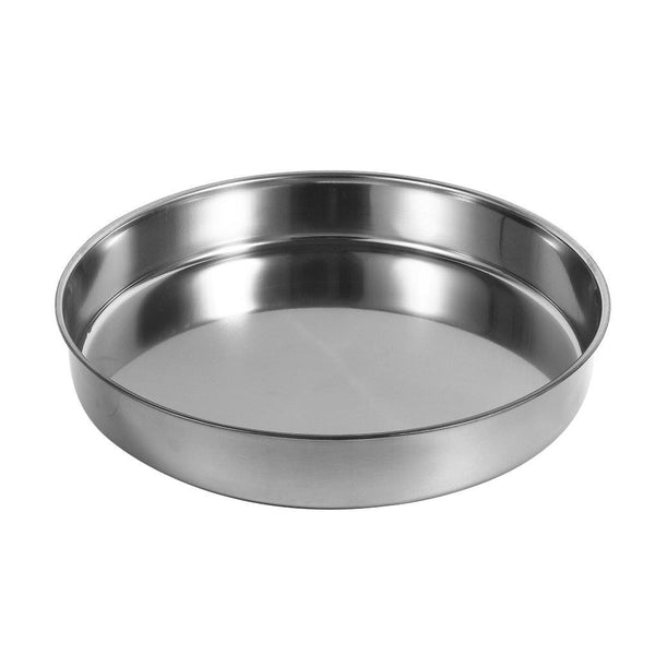 Stainless Steel Round Baking Tray 28 cm