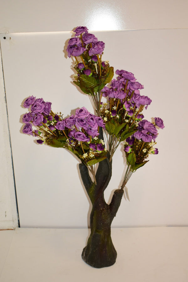 Artificial Flowers Stand Vase