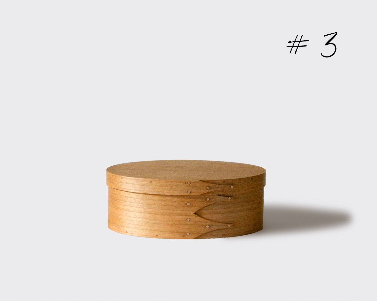 OVAL BOX / CHERRY / #3