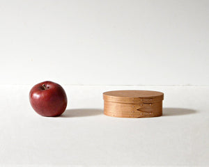 OVAL BOX / CHERRY / #1