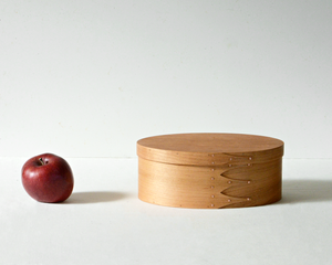 OVAL BOX / CHERRY / #4