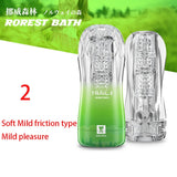 Transparent Soft Masturbator Sex Toy for Men