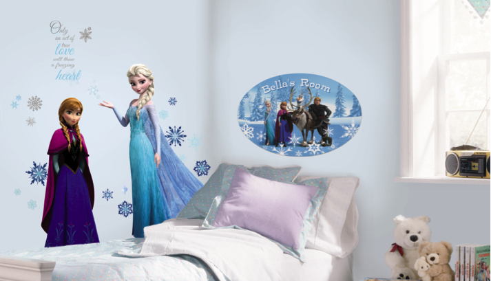 Create The Ultimate Disney Frozen Bedroom Makeover!