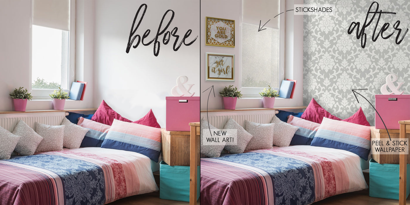 Makeover Your Dorm Room in 3 Easy Steps