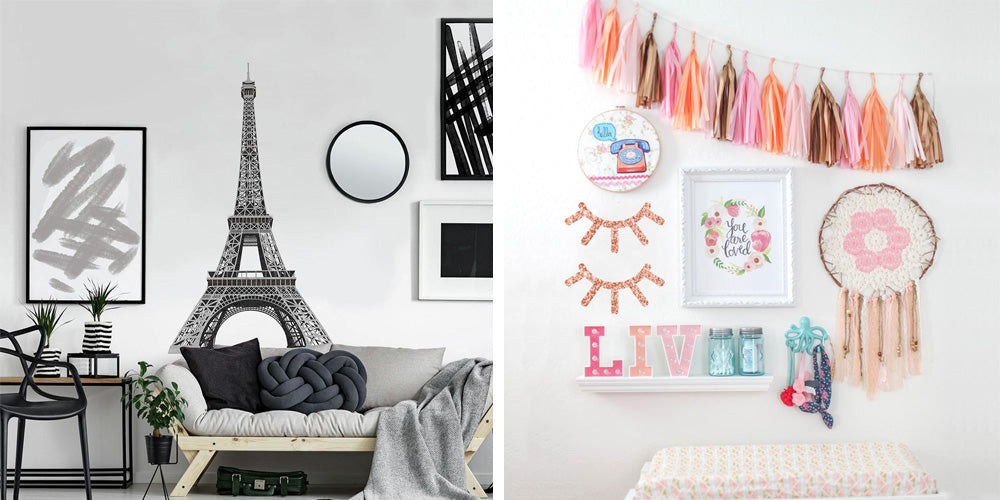 3 Ways to Use Wall Decals in Your Space