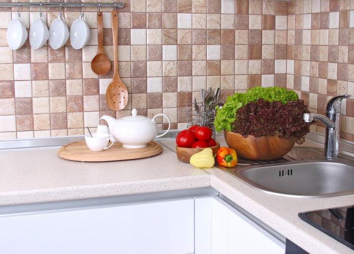 Simple Ways To Clear Countertop Chaos